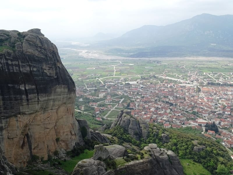 The view from Holy Trinity Monastery