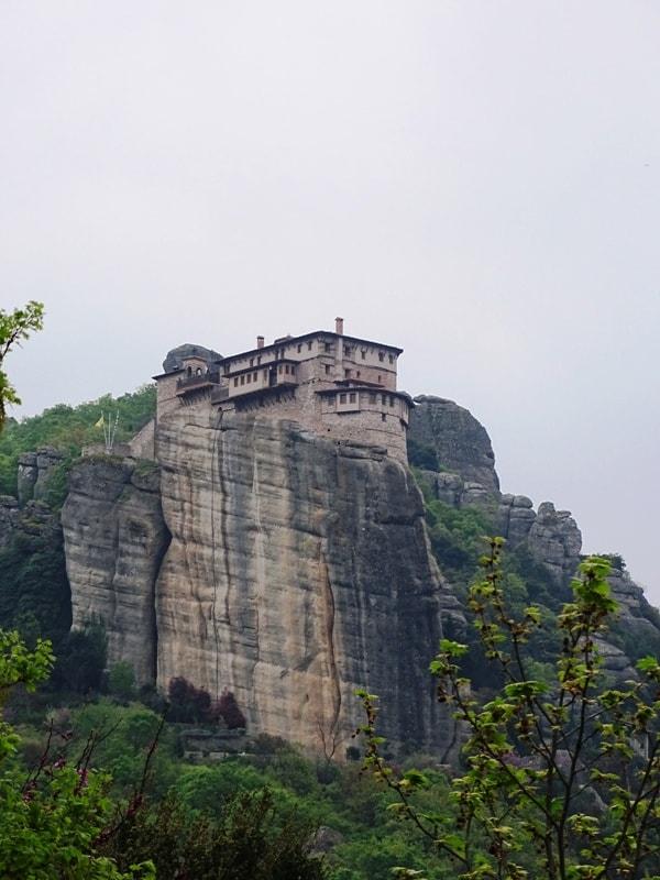 the Roussanou Nunnery