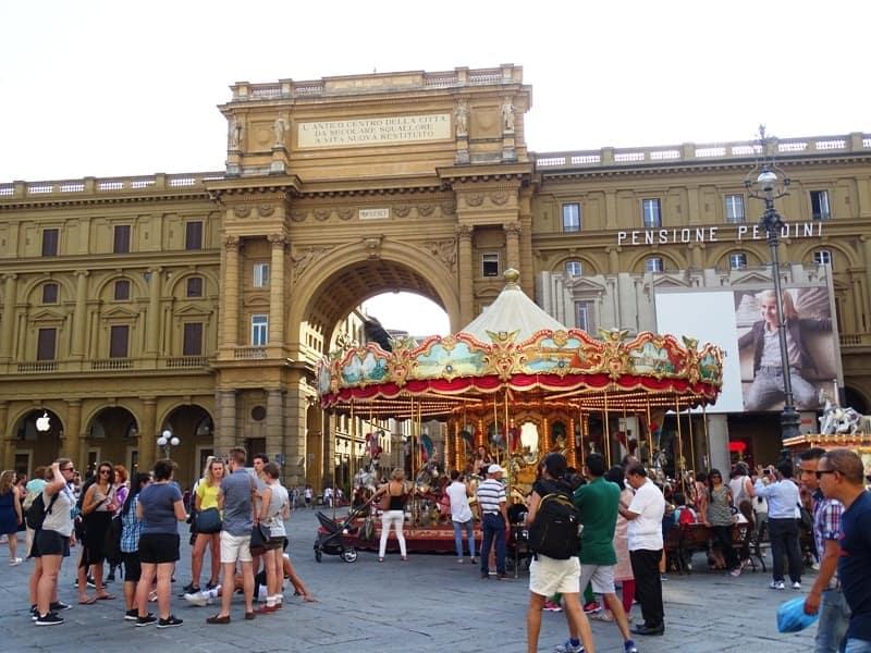 Piazza della Republica Florence