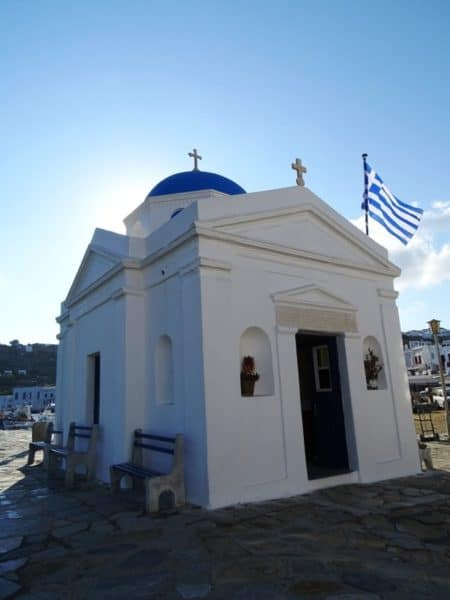 Agios Nikolaos church in Mykonos
