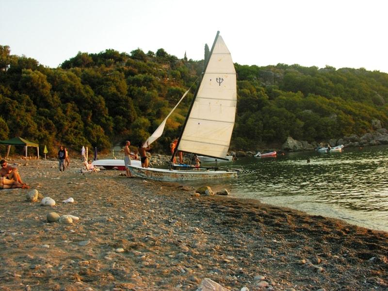 Delfinia beach Mani