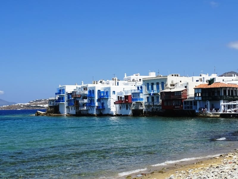 Little Venice Mykonos - things to do in mykonos