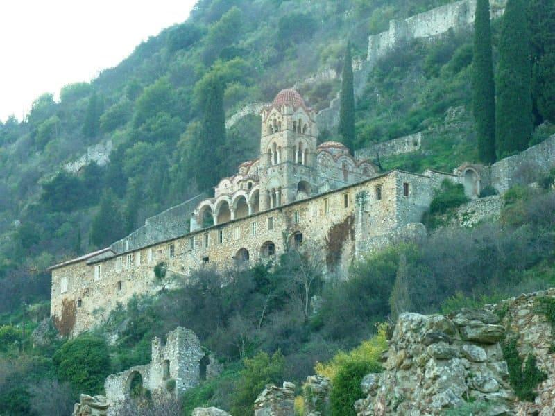 Mystras Peloponnese