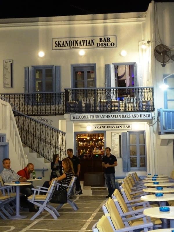 Scandinavia bar Mykonos