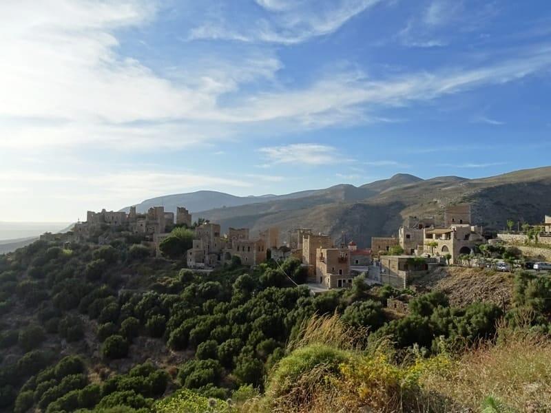 The traditional settlement of Vathia