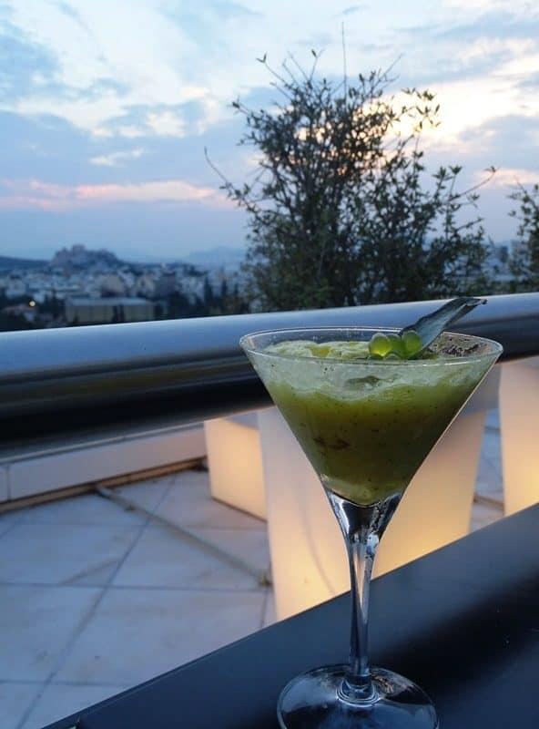 cocktail at Galaxy Restaurant