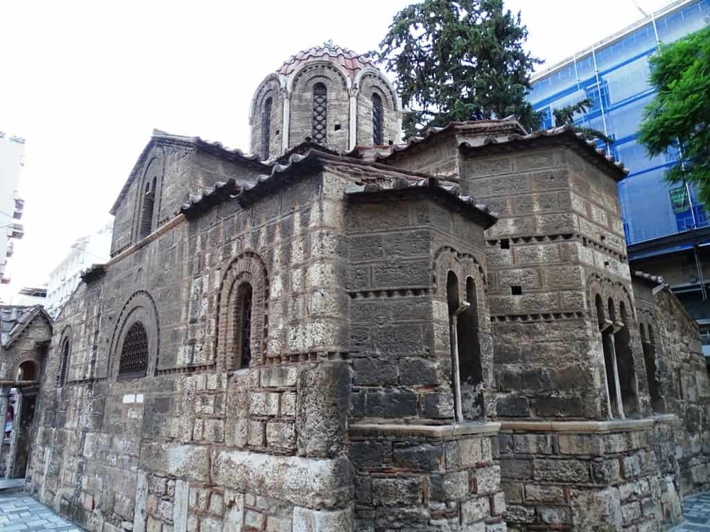 Kapnikarea Church, Ermou Street, Athens