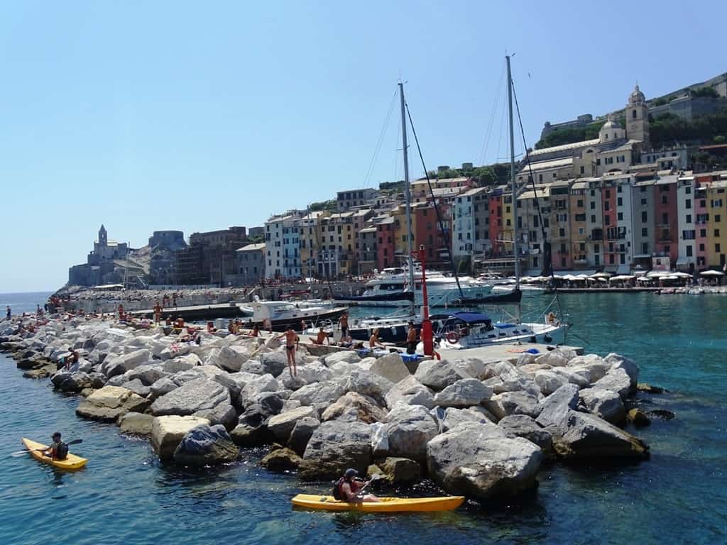 Portovenere - Italian Riviera cities and towns