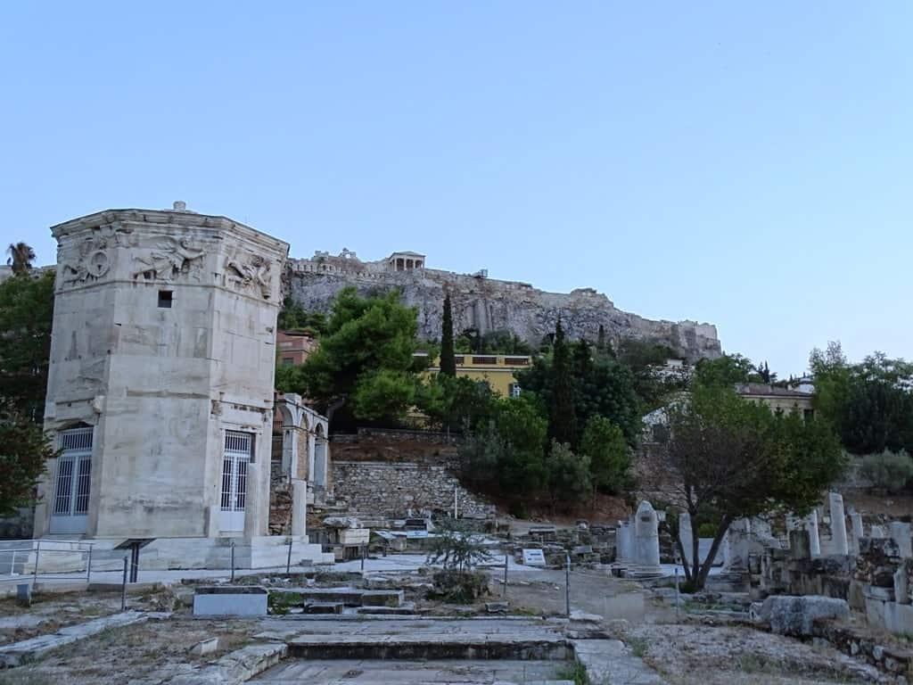 Roman Agora and the Acropolis