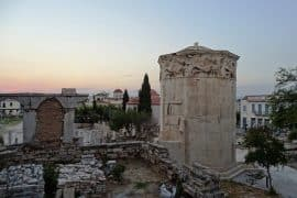 The Tower of the Winds in Ancient Agora, Athens