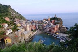 8 Italian Riviera towns you have to visit - Vernazza from above