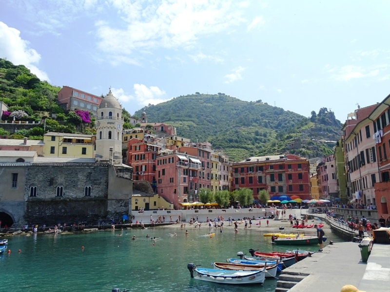 Vernazza - 8 italian riviera cities and towns you have to visit