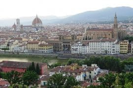 View of Florence from Piazzele Michelangelo