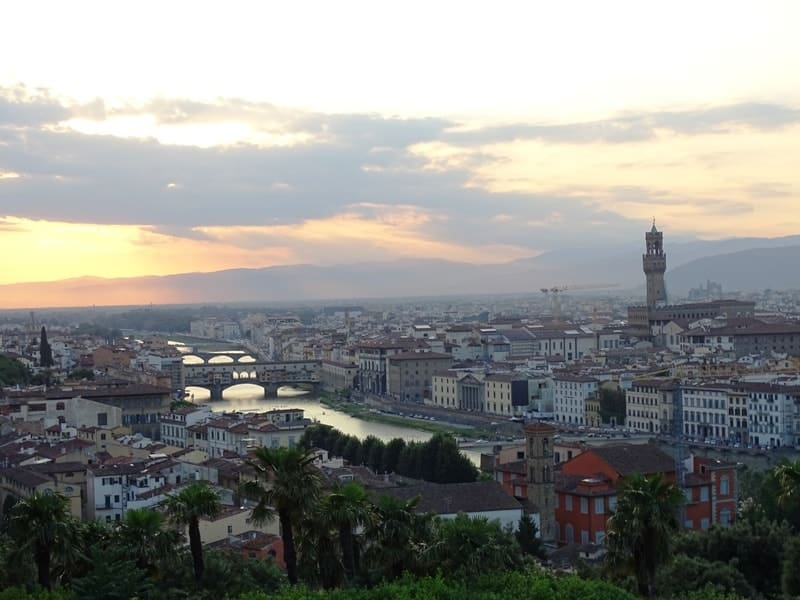 Italian Florence: View Of Florence From Above
