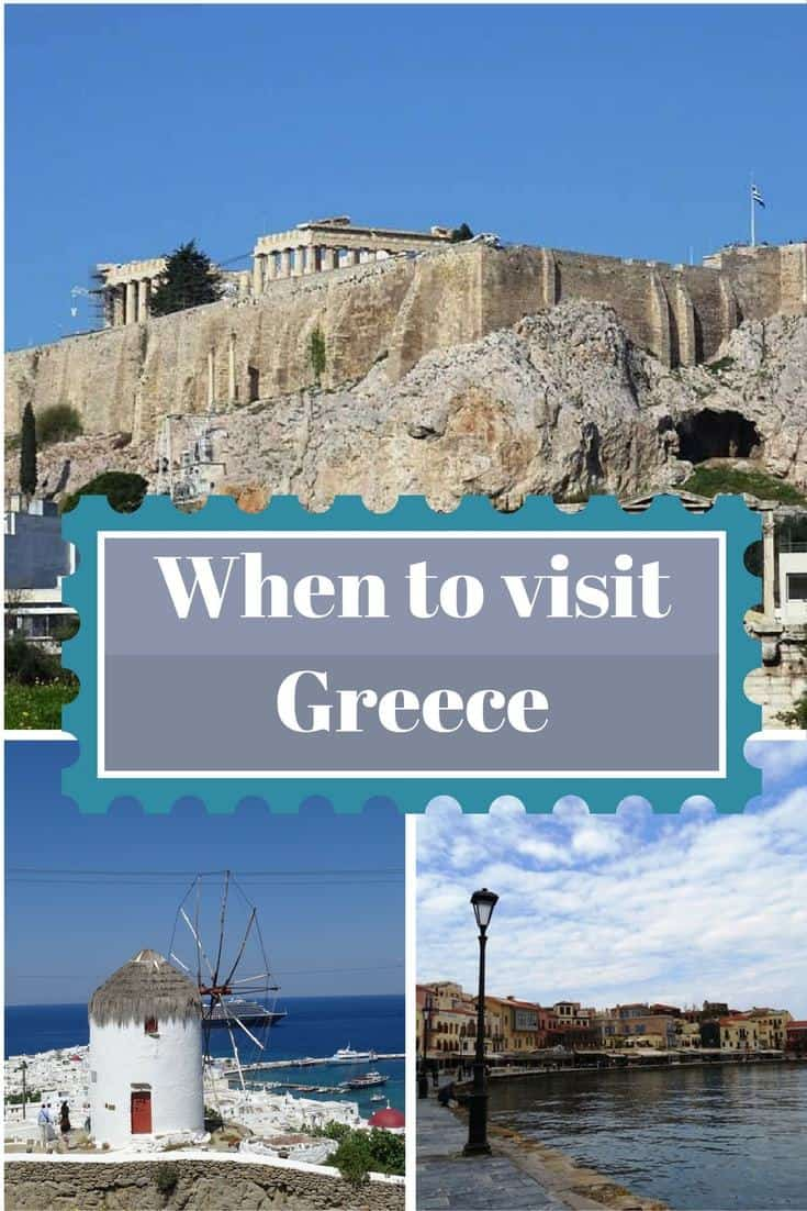 Are you planning a trip to Greece and you want to know when is the best time to come? Read this post to help you decide when is the best time to visit Greece. Click through to read now.