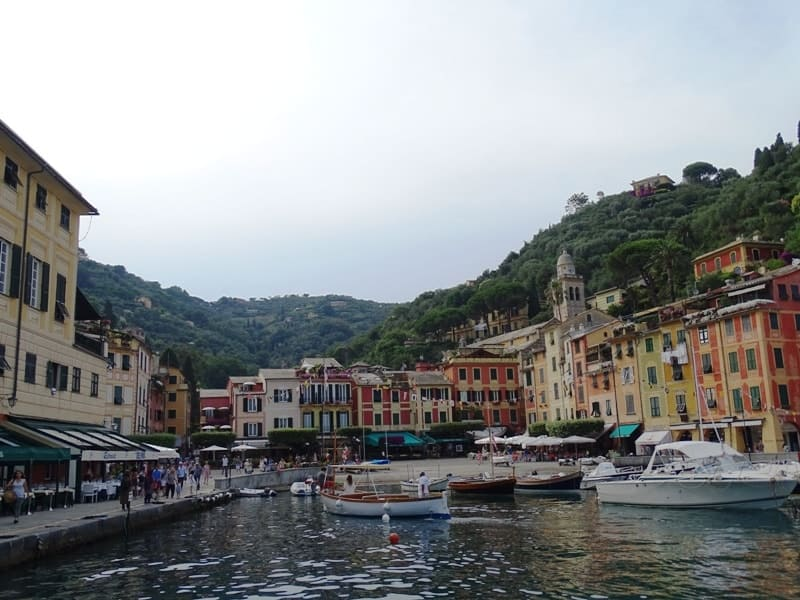 the harbour of Portofino - 8 italian riviera cities and towns you have to visit