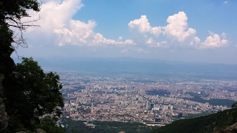 vitosha mountain view sofia bulgaria - A local's guide to Sofia - things to do in Sofia Bulgaria