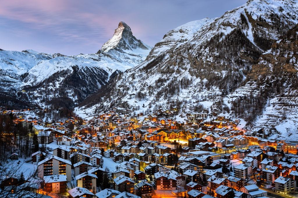 Best Christmas destinations in Europe - Zermatt
