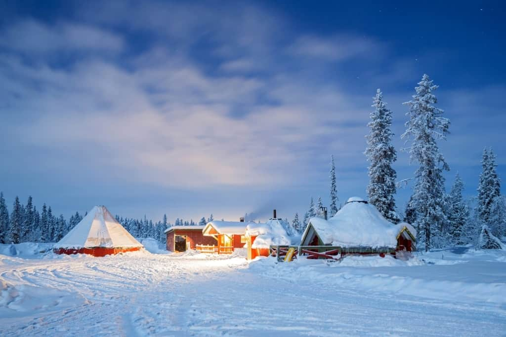 Best Christmas destinations in Europe - Swedish Lapland