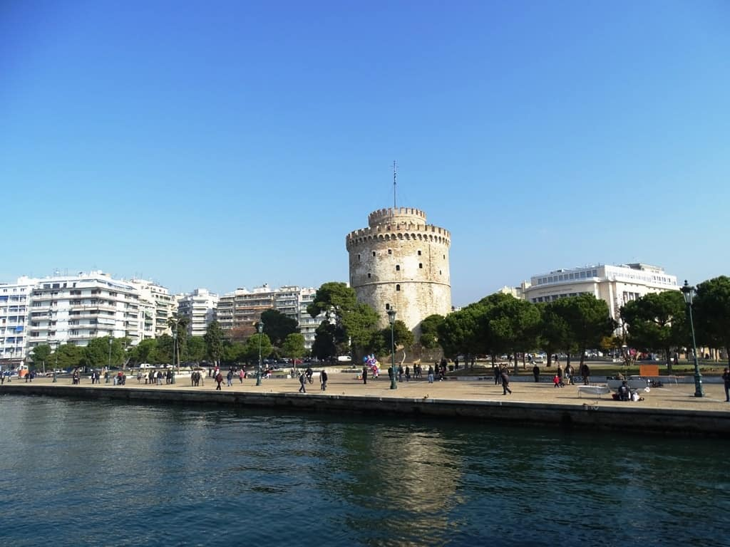 The White Tower in Thessaloniki - Best Place to Visit in Greece