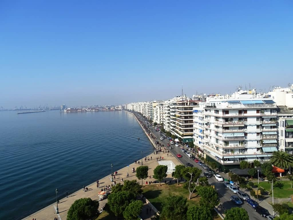 the view from the White Tower, Thessaloniki