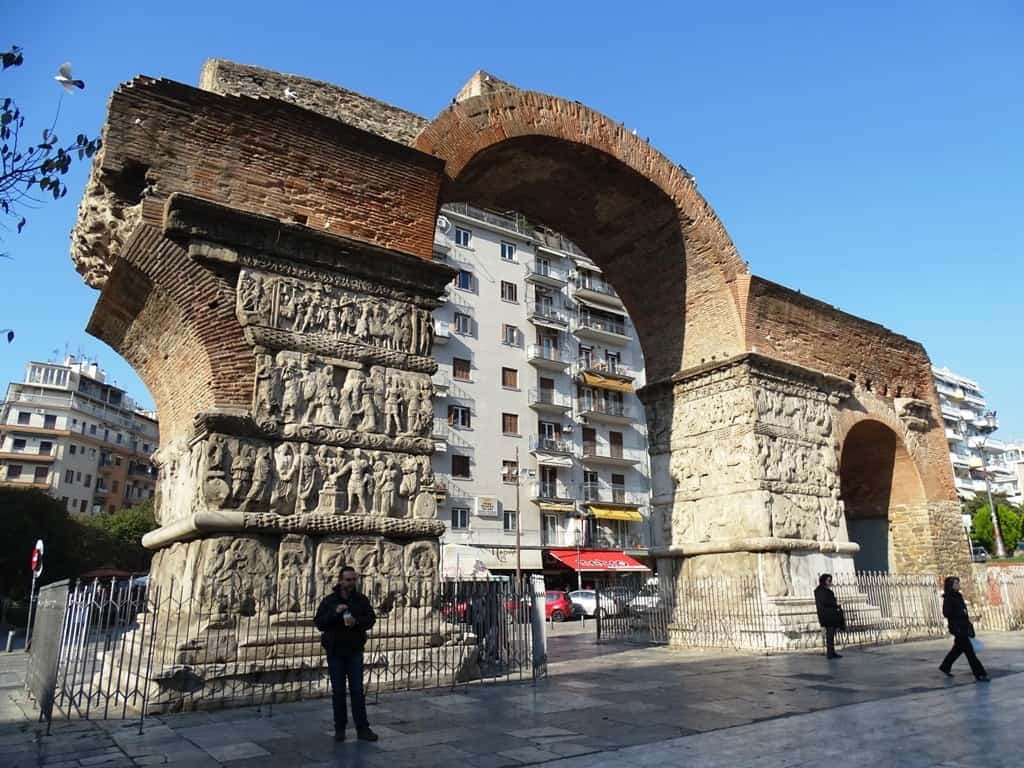 The Triumphant Arch of Galerius, Kamara Thessaloniki