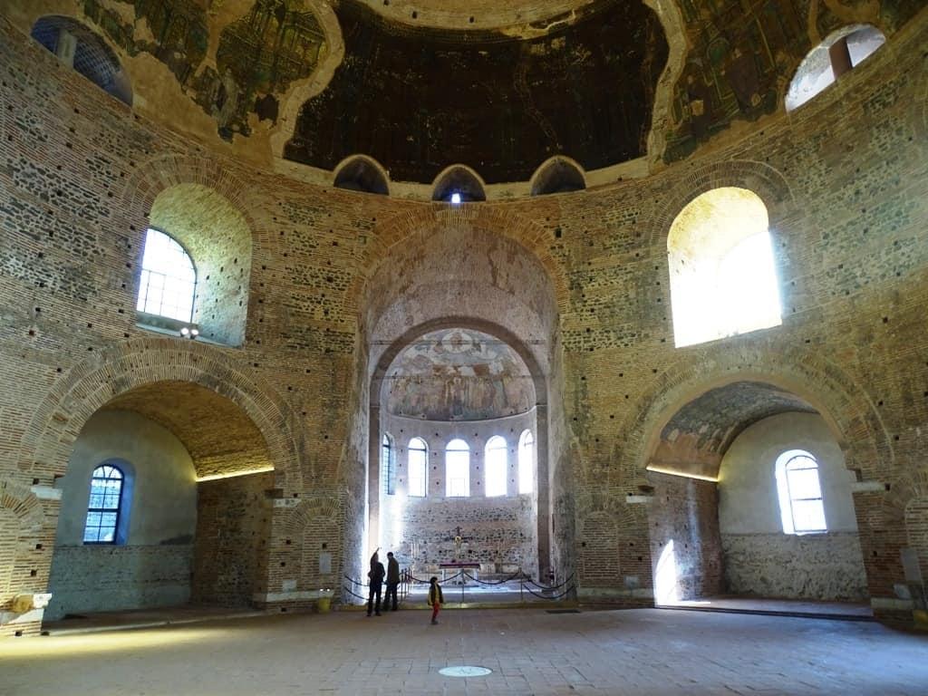 Inside the Rotunda, Thessaloniki