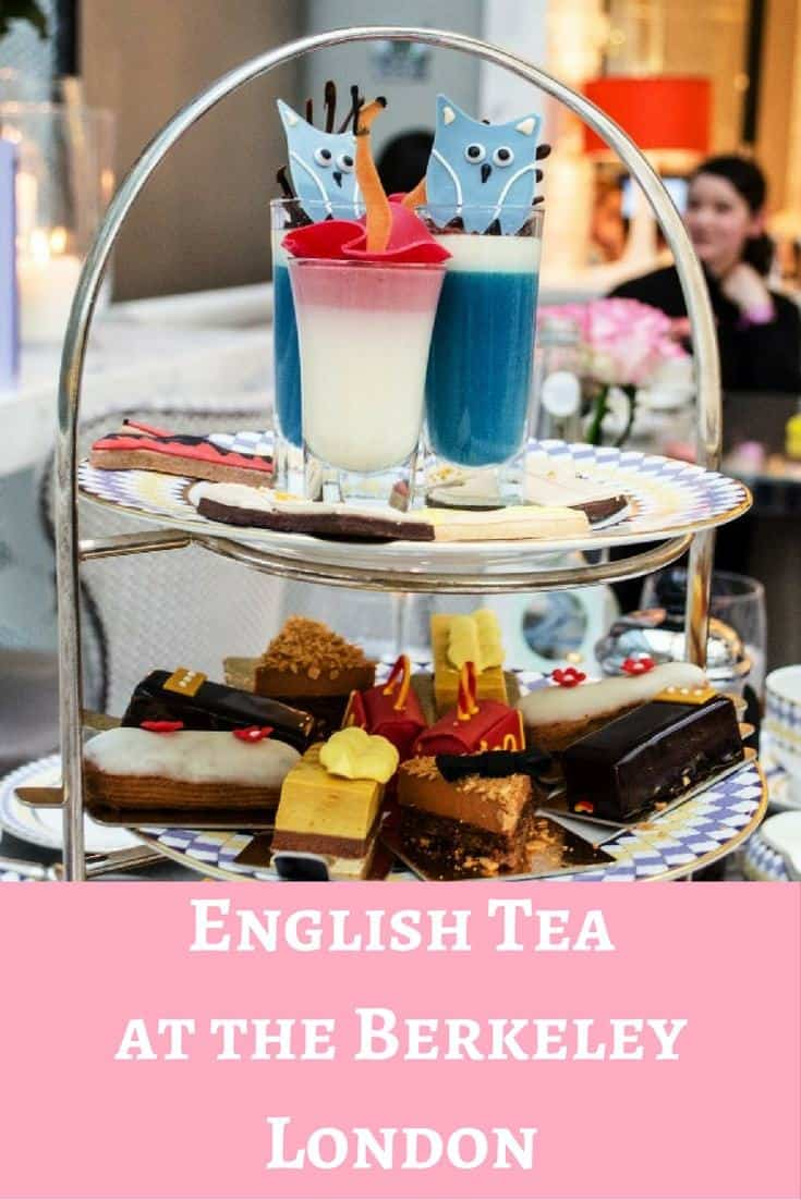 Enjoy a traditional english tea with a fashion twist at the Berkeley in London