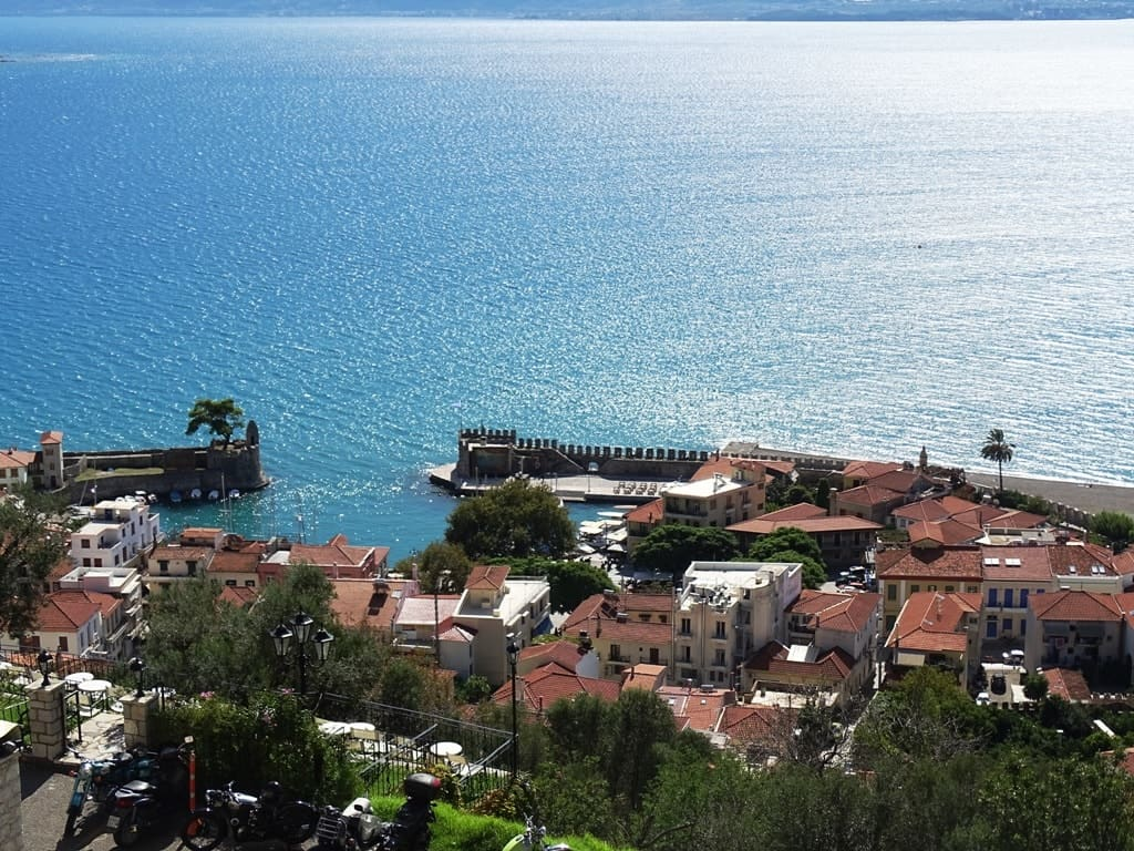 View from the castle - Top things to do in Nafpaktos Greece