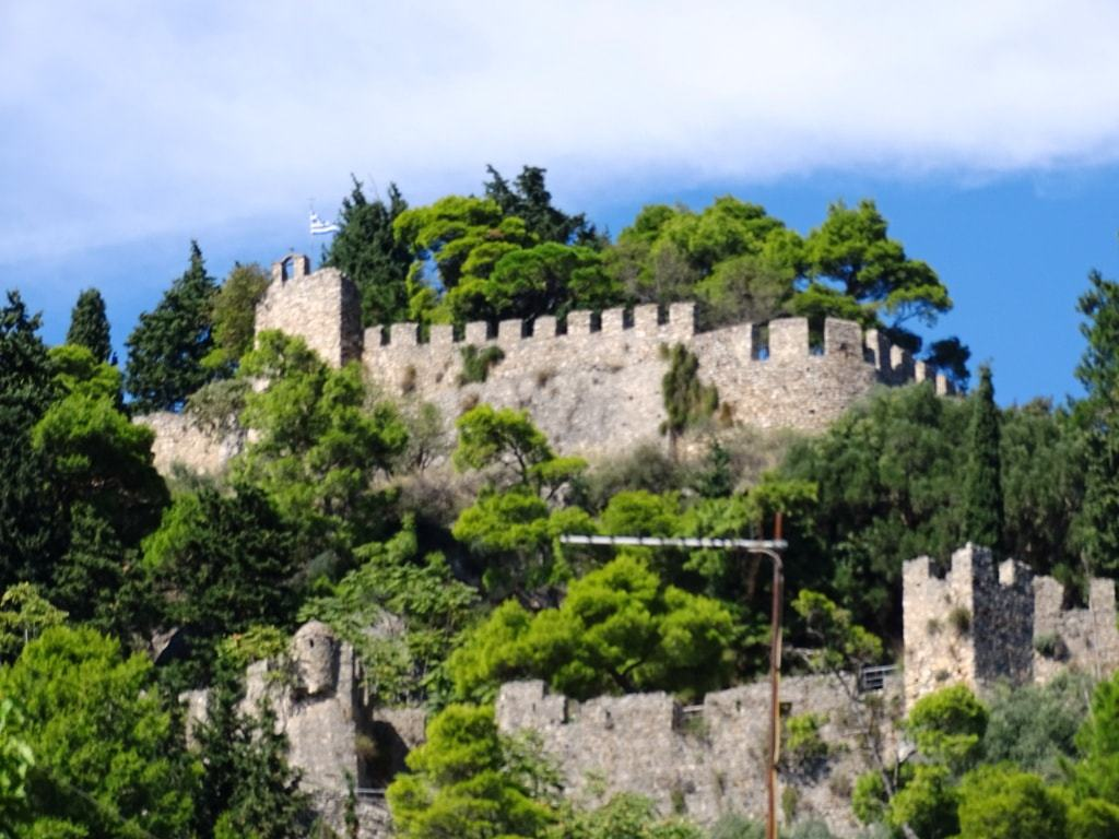 The castle of Nafpaktos - top things to do in Nafpaktos Greece