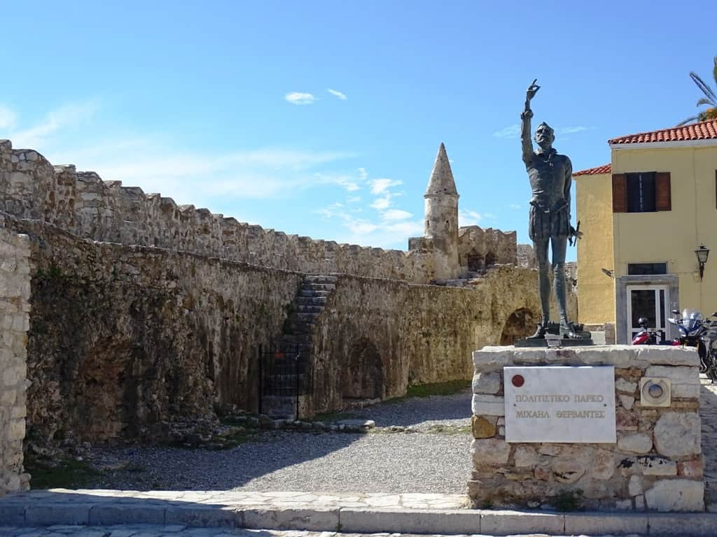 Statue of Cervantes - Top things to do in Nafpaktos