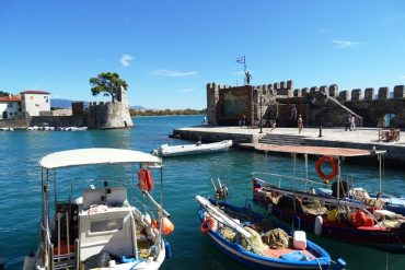 The Venetian Harbour of Nafpaktos - things to do in Nafpaktos