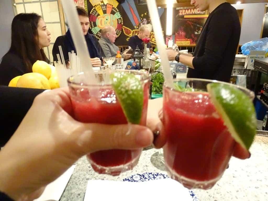 margaritas -Twilight Soho Food Tour London