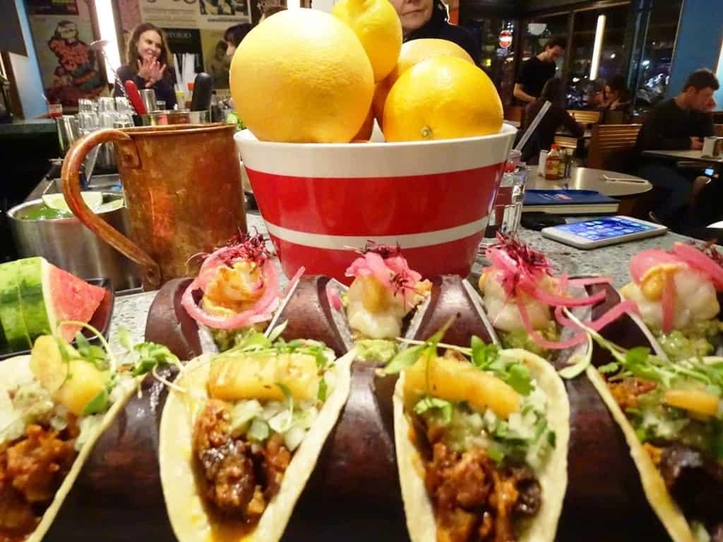 tacos -Twilight Soho Food Tour London