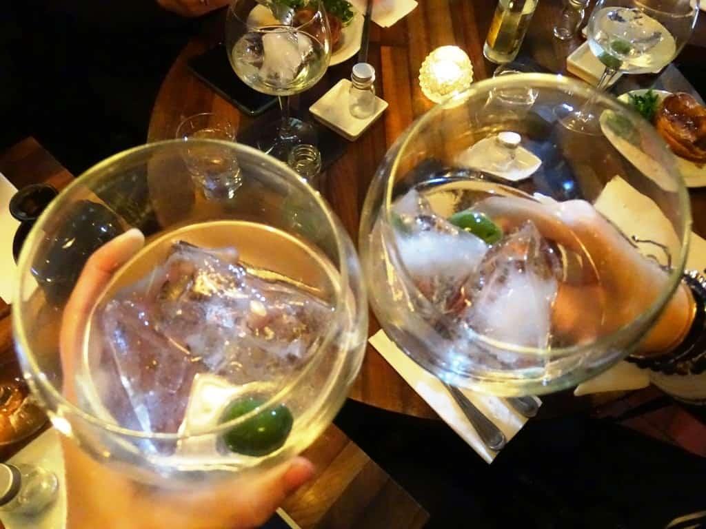 Gin n Tonic- Twilight Soho Food Tour London