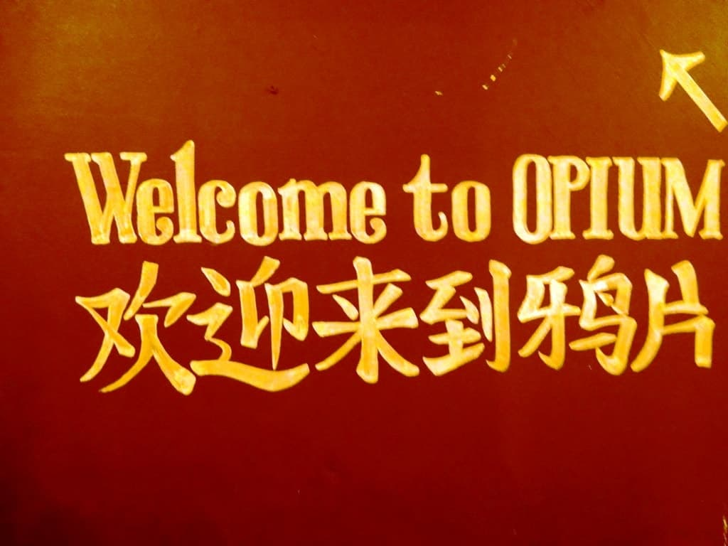 Opium - -Twilight Soho Food Tour London