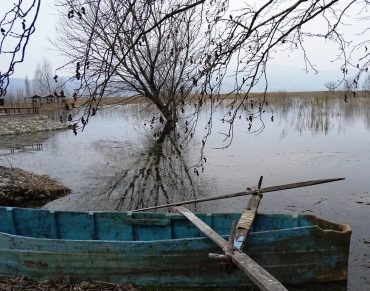traditional boat -The natural beauty and gastronomy of Kilkis,