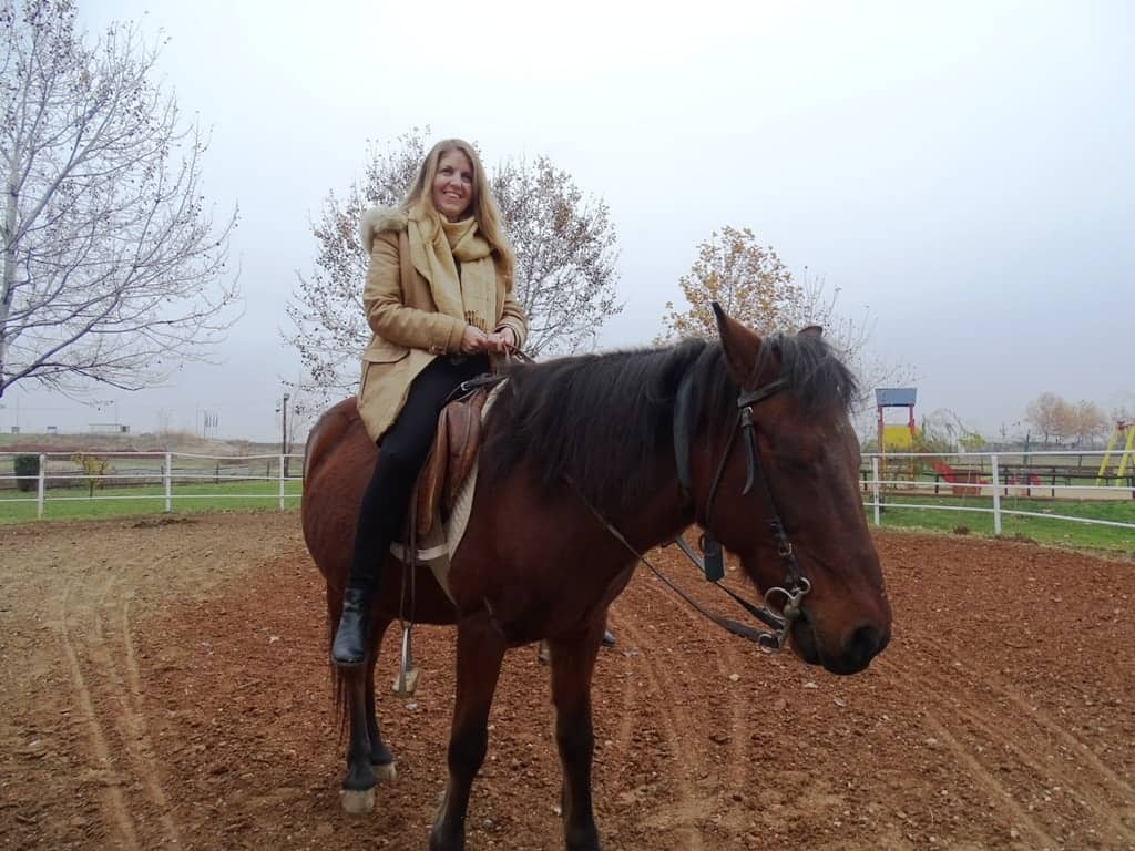 Riding a beauty at the Ranch Kilkis -The natural beauty and gastronomy of Kilkis,