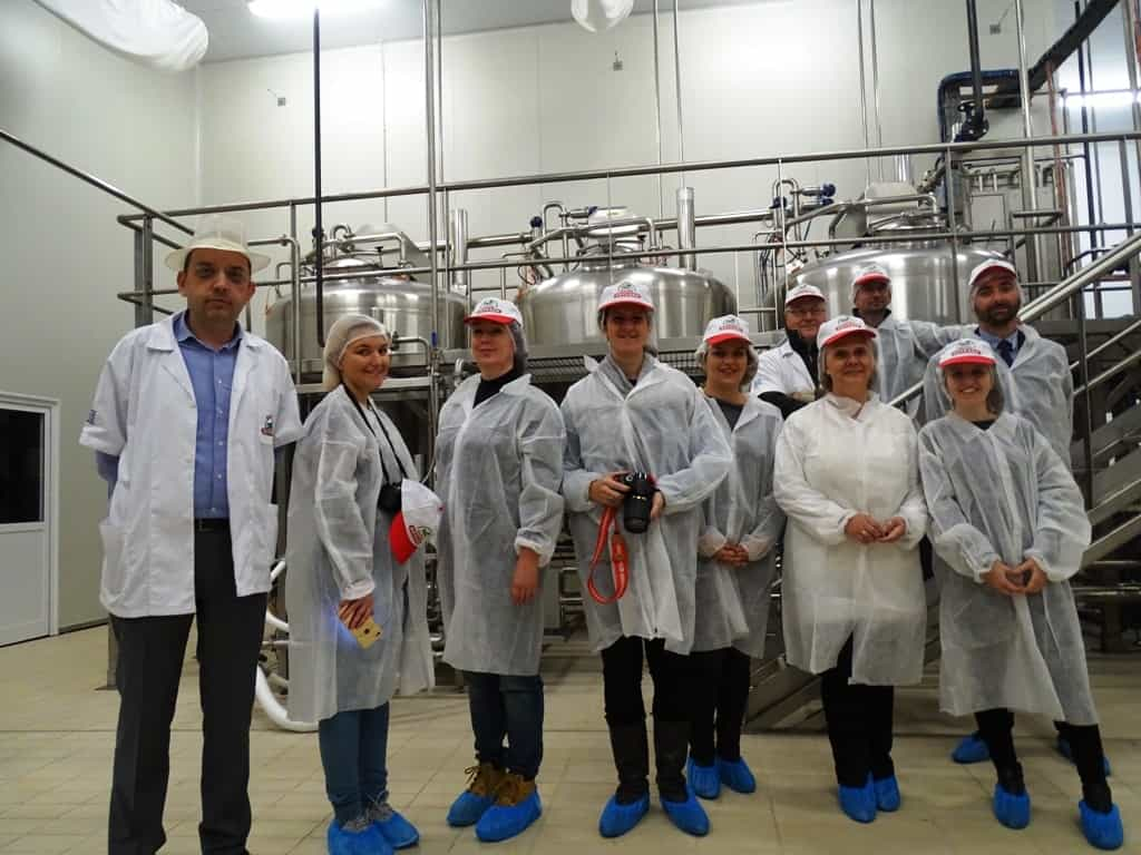 Our team at Koukakis dairy farm -The natural beauty and gastronomy of Kilkis, Greece