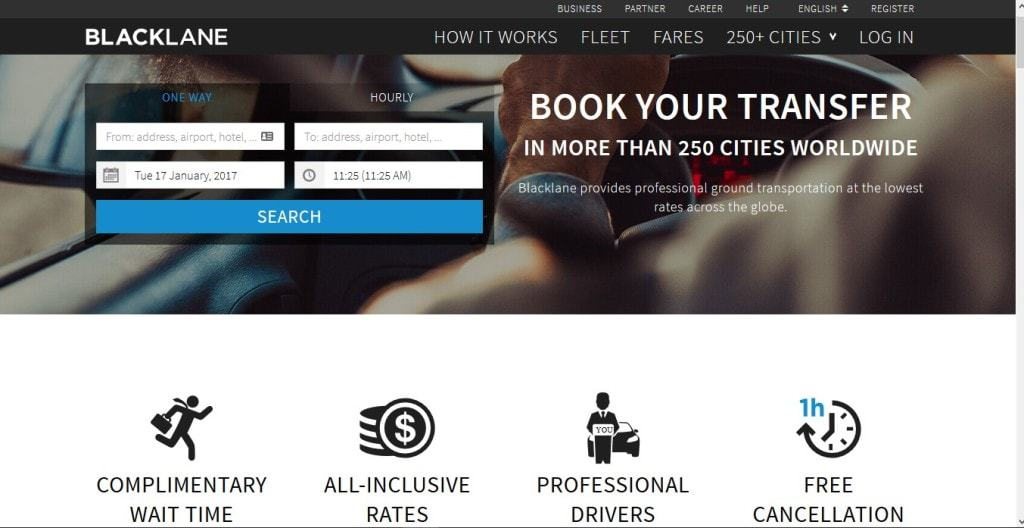 How to book an airport transfer with Blacklane