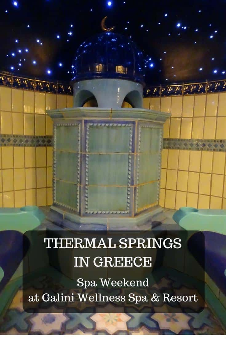 Looking for a spa weekend in Greece. Galini Wellness & Spa Resort in Kamena Vourla takes advantage of the thermal springs of the area famous for its therapeutic properties