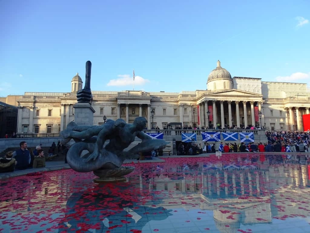 Trafalgar square - 7 days in london itinerary