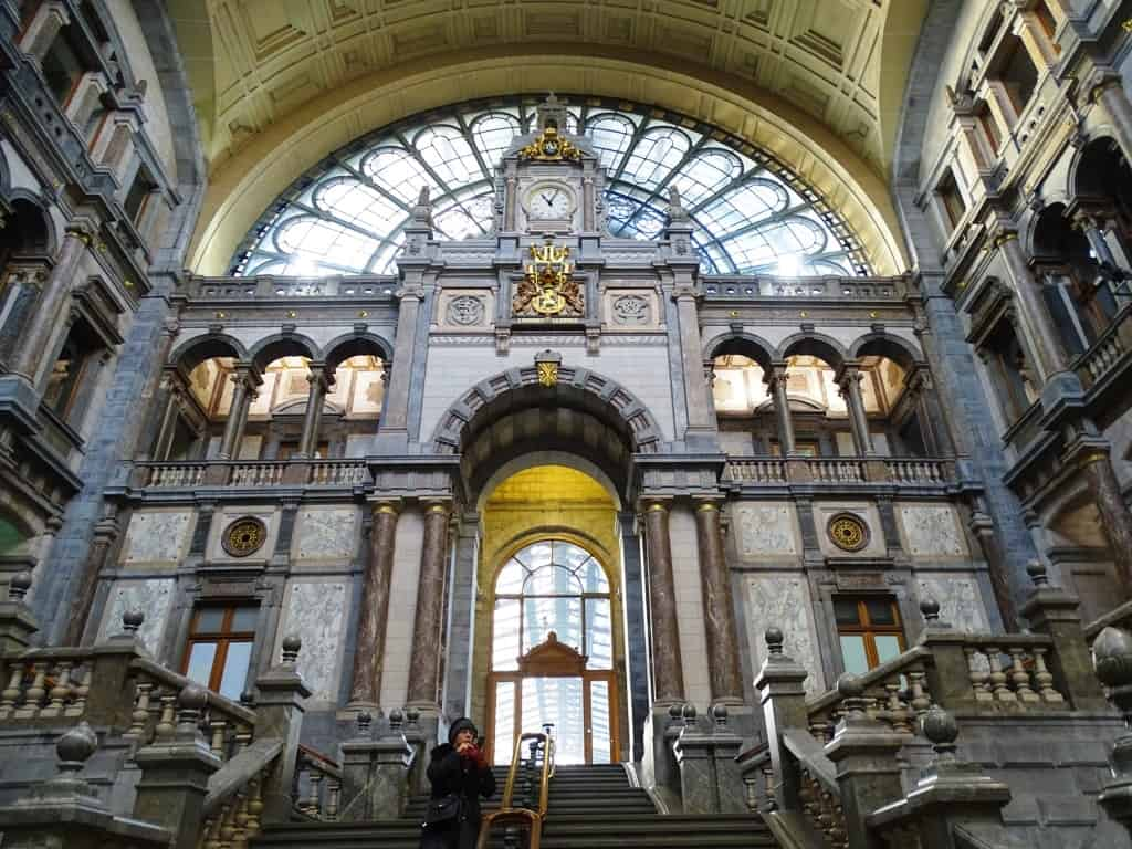 Central Station Antwerp Belgium - things to do in Antwerp