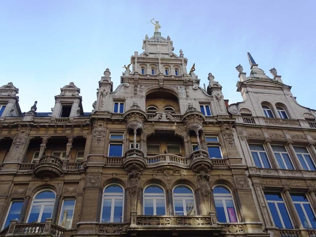 Meier Street Antwerp Belgium 2