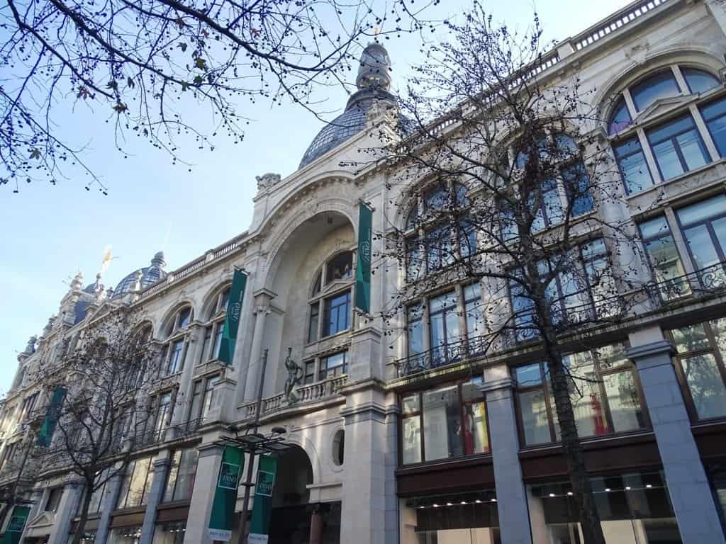Meier Street Antwerp Belgium