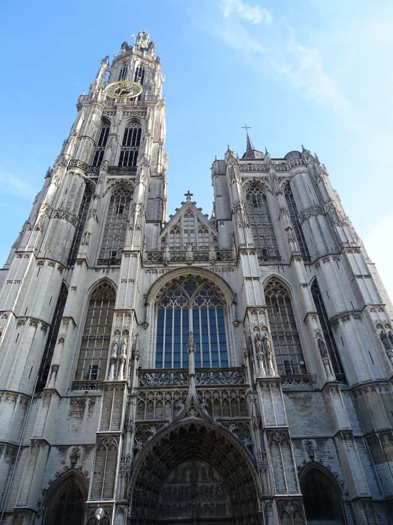 the Cathedral of our Lady Antwerp Belgium