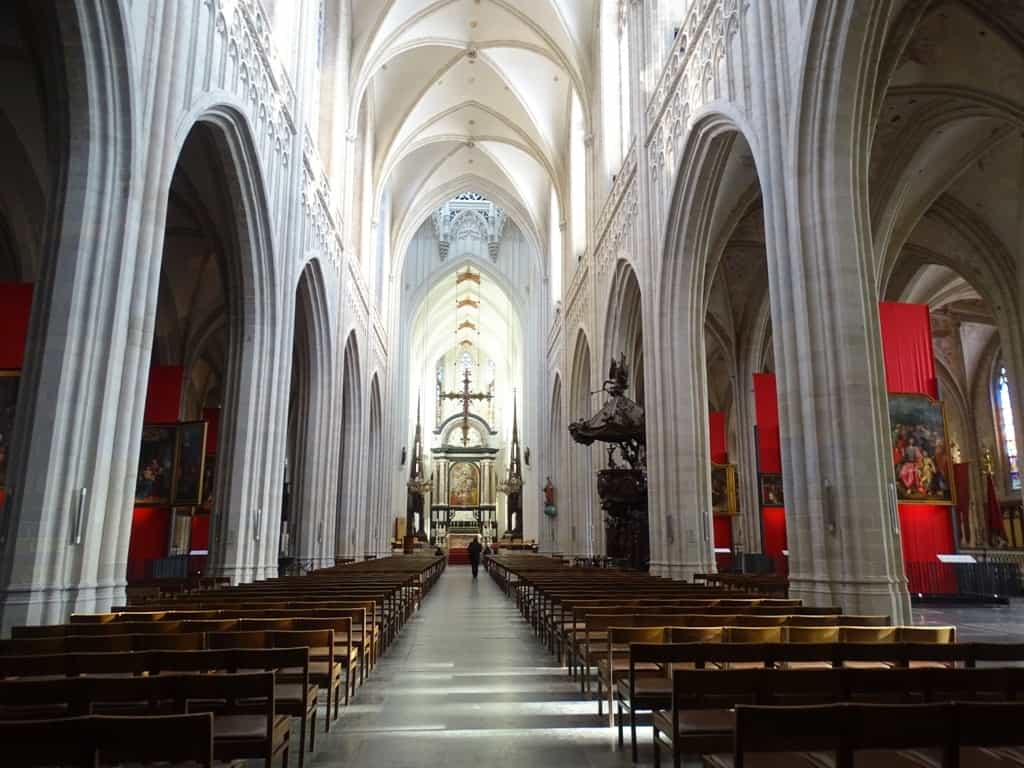Cathedral of our Lady Antwerp Belgium