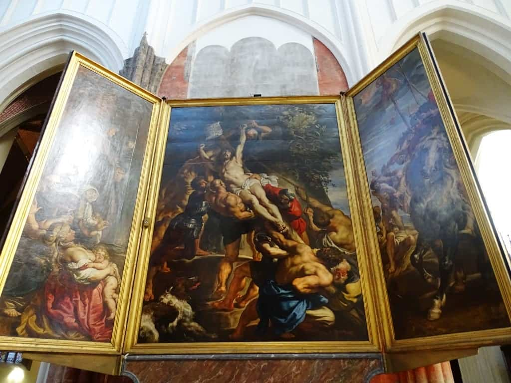 Rubens Cathedral of our Lady Antwerp