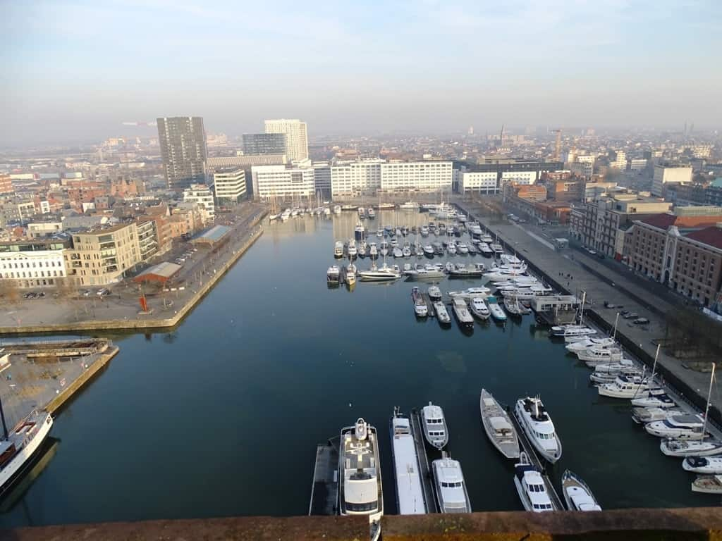 the view from MAS Museum Aan de Stroom Antwerp 2
