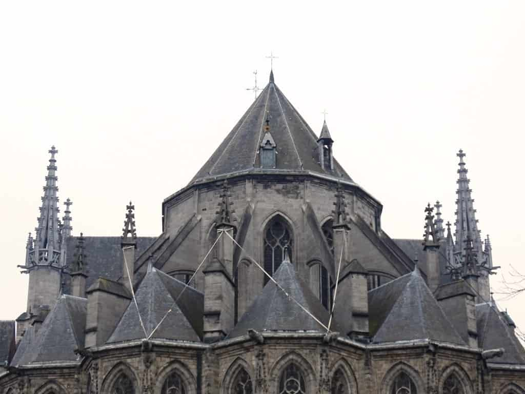 the Collegiate Church of Saint Waudru, Mons